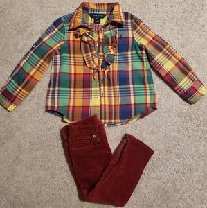 Toddler Girls Ralph Lauren Outfit